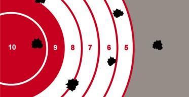 efficiency versus effectiveness. target